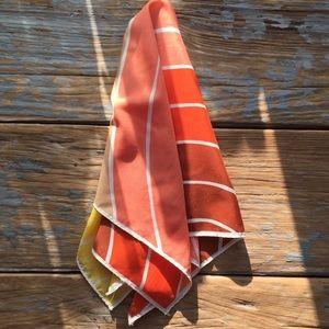 Vintage Vera Rainbow Silk Scarf